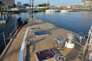 Bow Deck Area By Teakdeckings.com