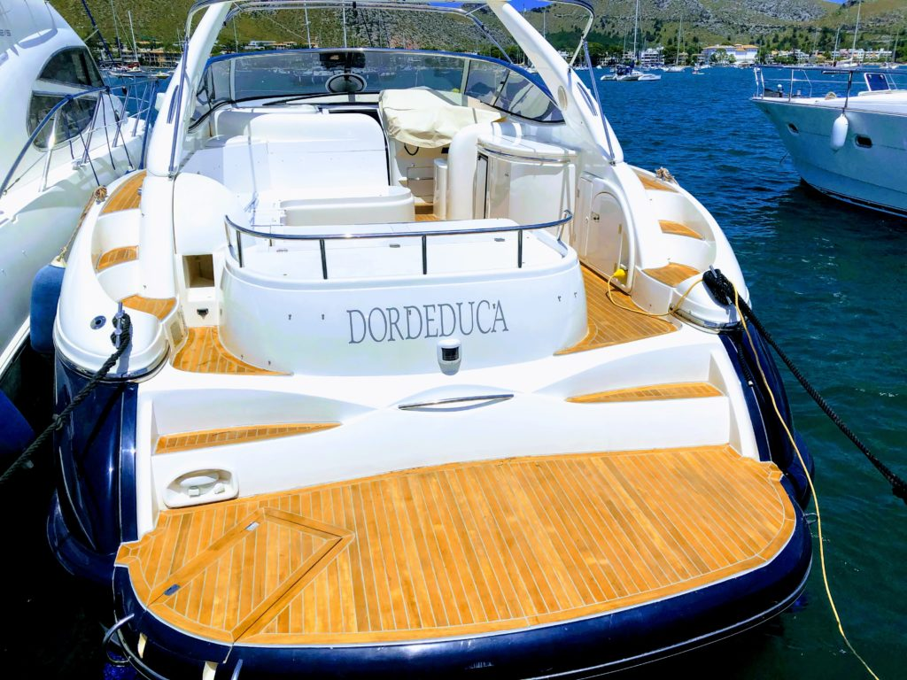 Sunseeker Grey Teak Rubber 4